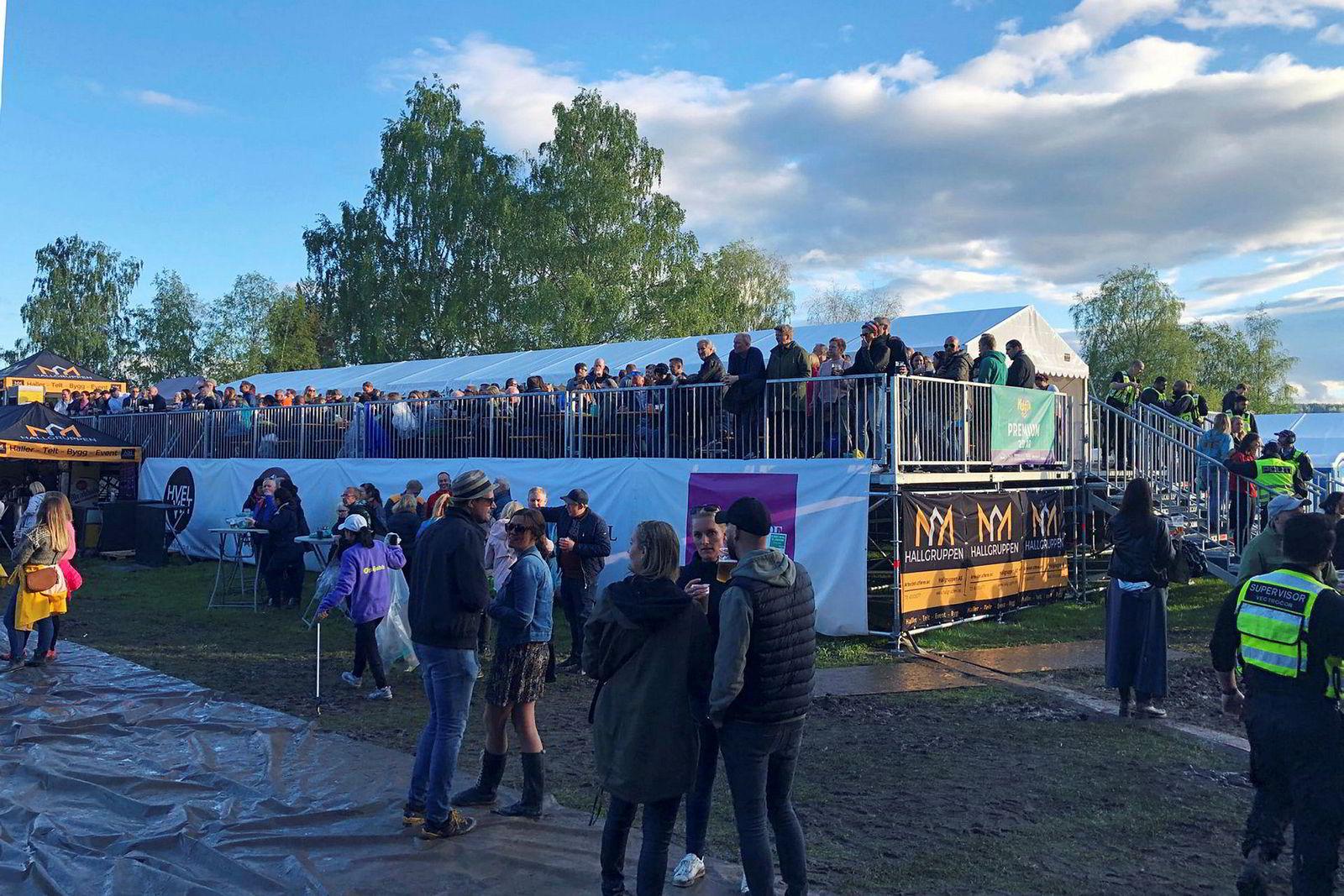 Hallgruppens produkter er blant annet brukt i Nebbenfestivalen ved Lillestrøm.