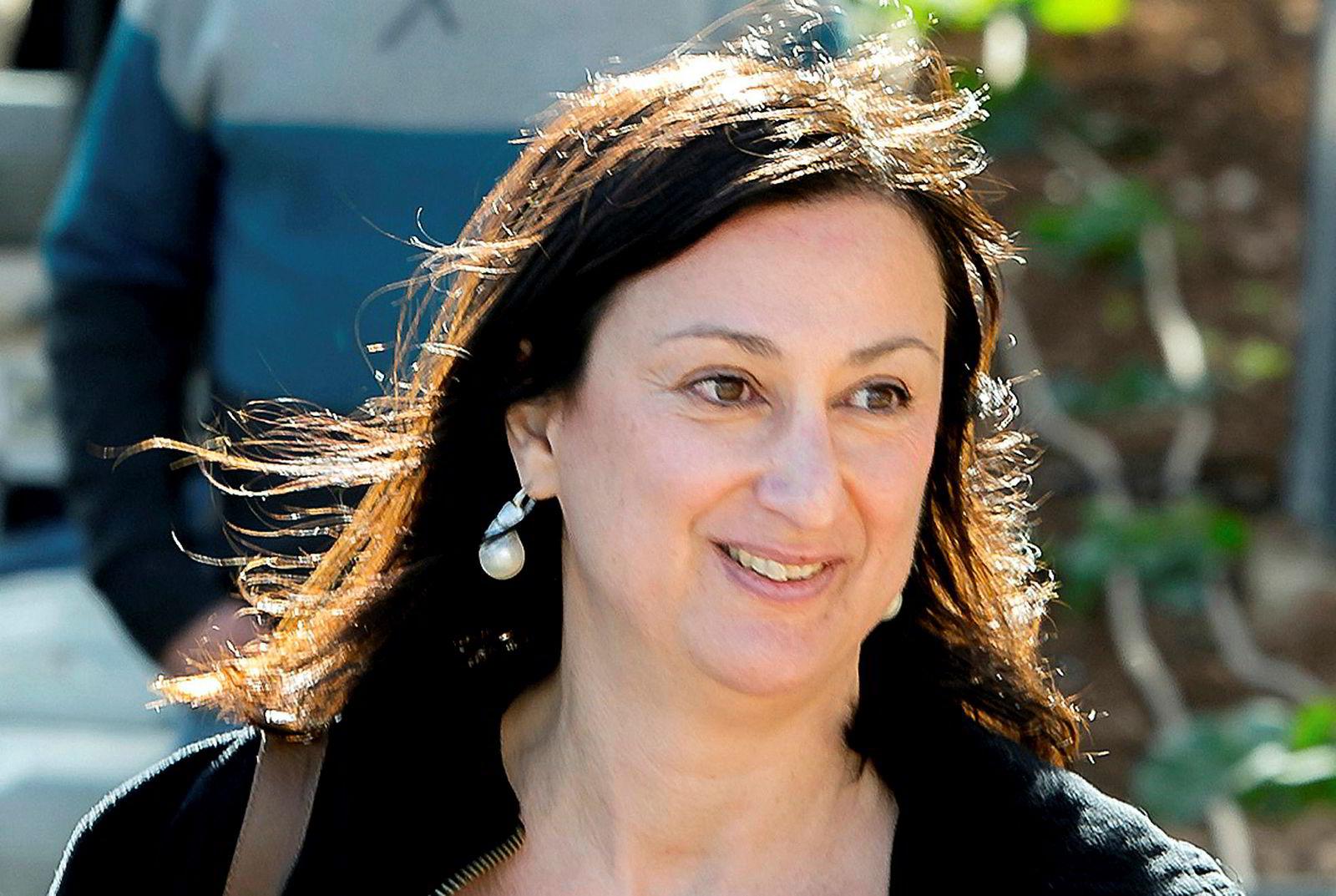 Den maltiske journalisten Daphne Caruana Galizia, ble drept av en bilbombe i 2017.