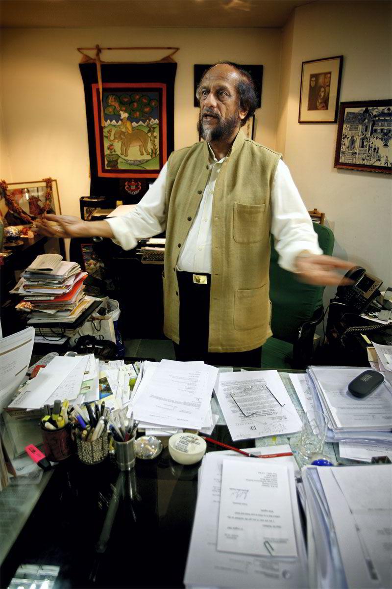 KLIMADOMSTOL. Lederen for FNs klimapanel, Rajendra Pachauri, mener det kan vær een ide å opprette en domstol tilsvarende menneskerettsdomstolen i Haag - men som skal ta vare på klimaendringofres interesser.