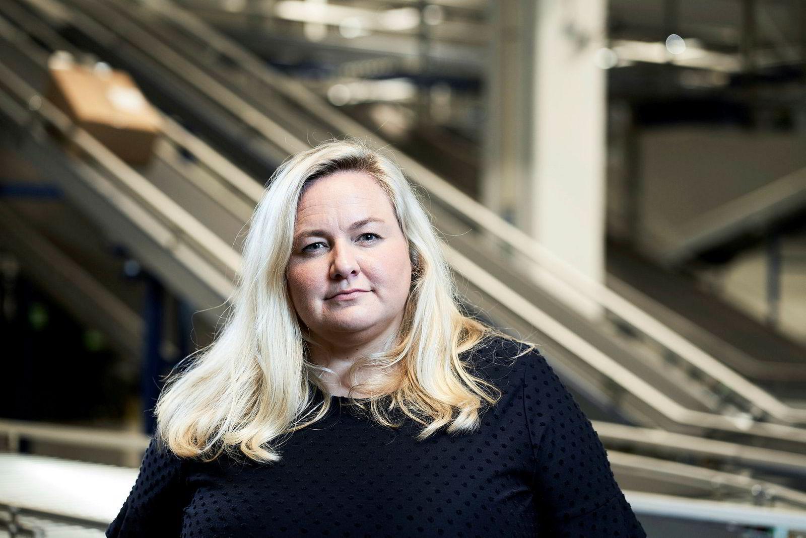 Kristin Hovland, kommunikasjonssjef for Komplett