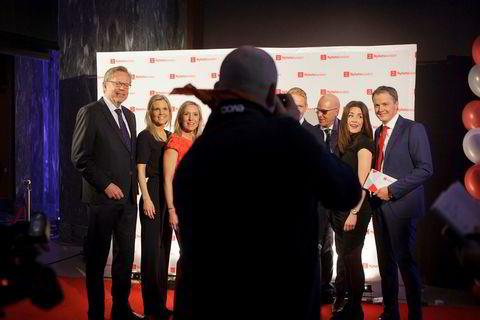 Samtlige av TV 2s nyhetsankere var samlet for å feire Nyhetskanalens jubileum.