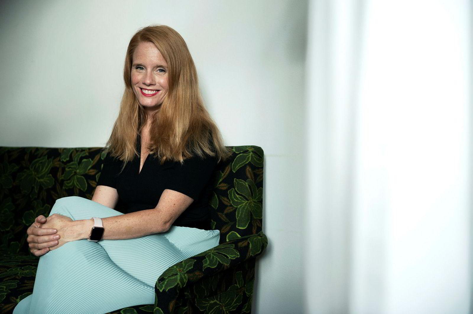 Susanne Kaluza jobber med likestilling i She.