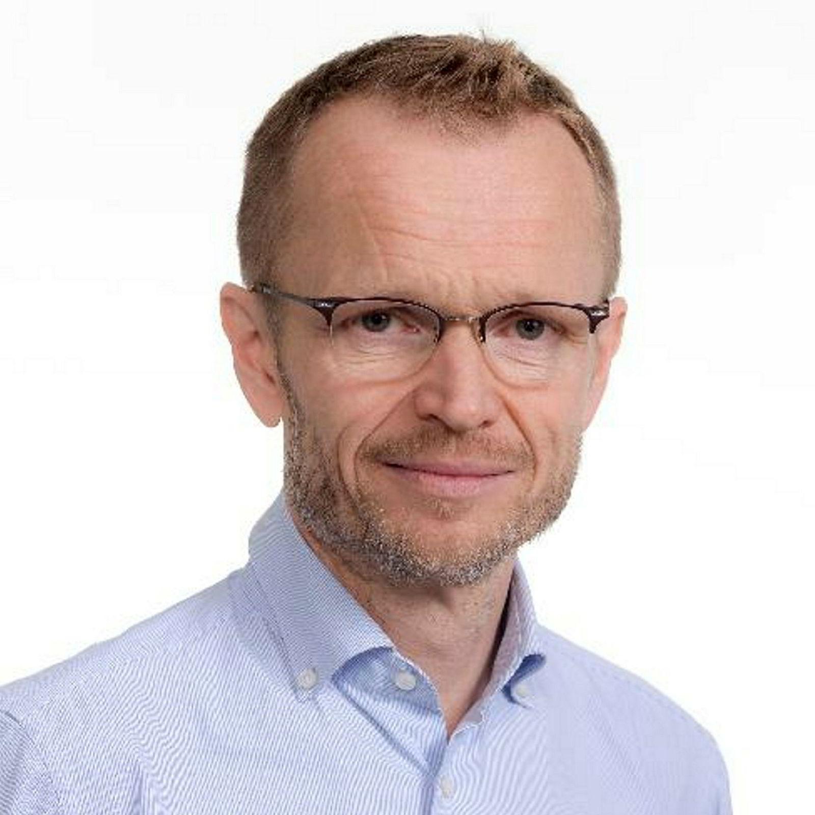 Professor Kristian Steinnes.
