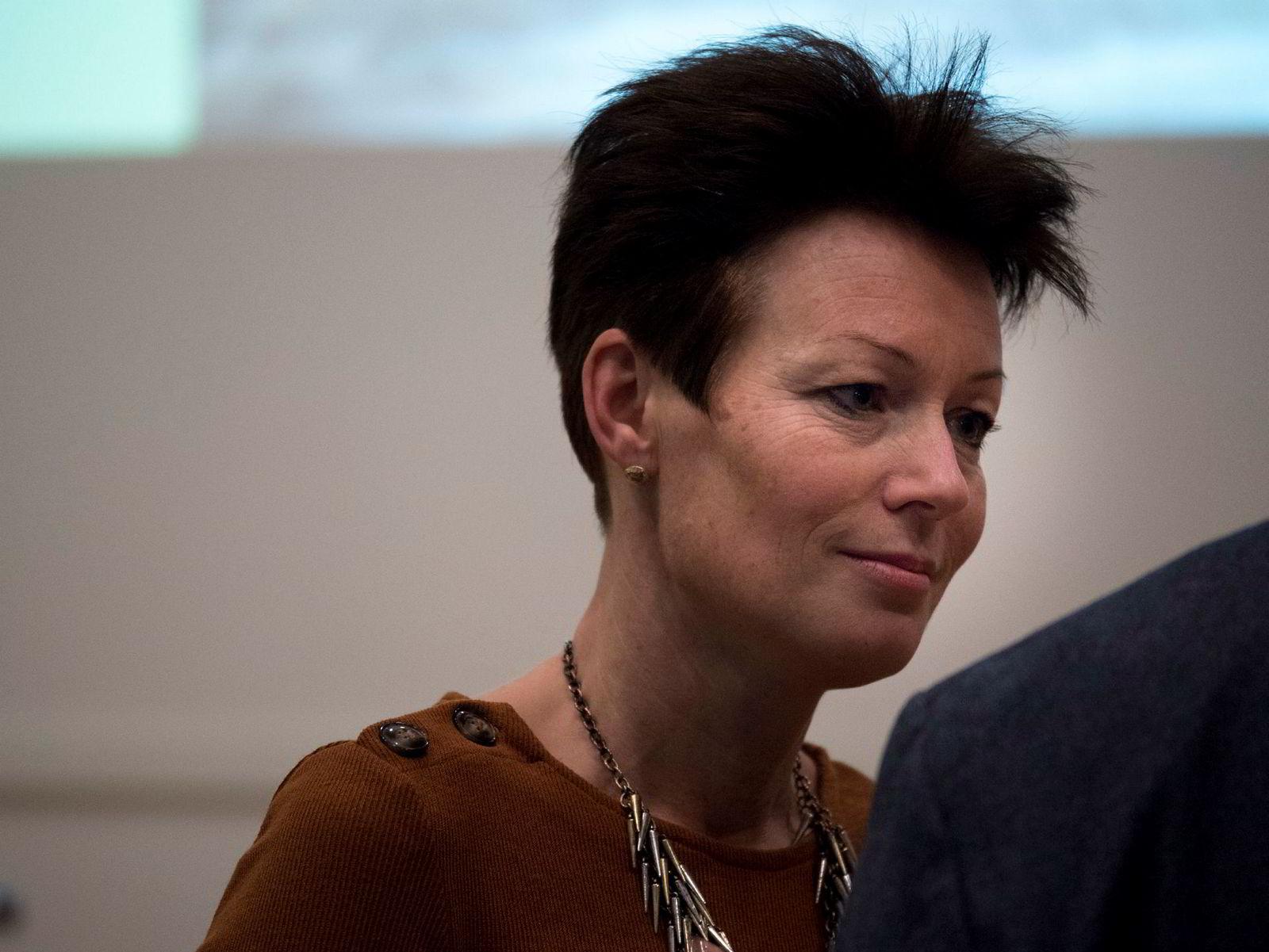 Tidligere KrF-topp Line Henriette Holten slutter seg til kravet om åpen avstemming på landsmøtet fredag.