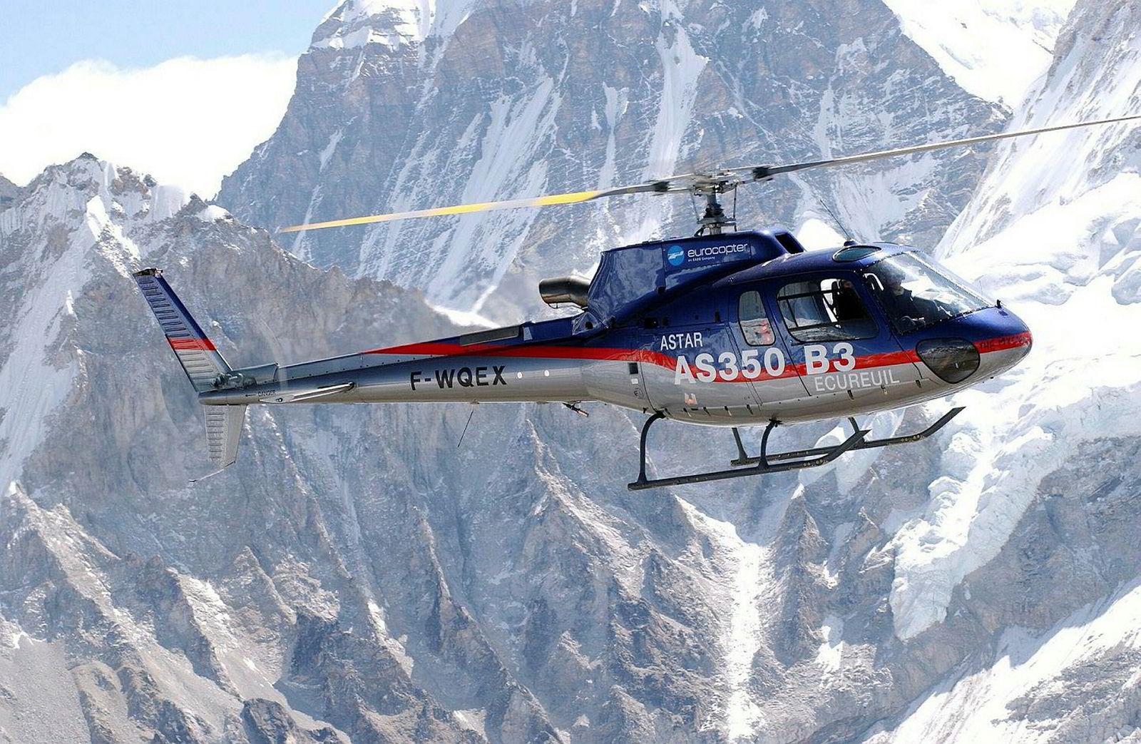 Selskapet eier et lastehelikopteret Airbus H 125 av denne typen.