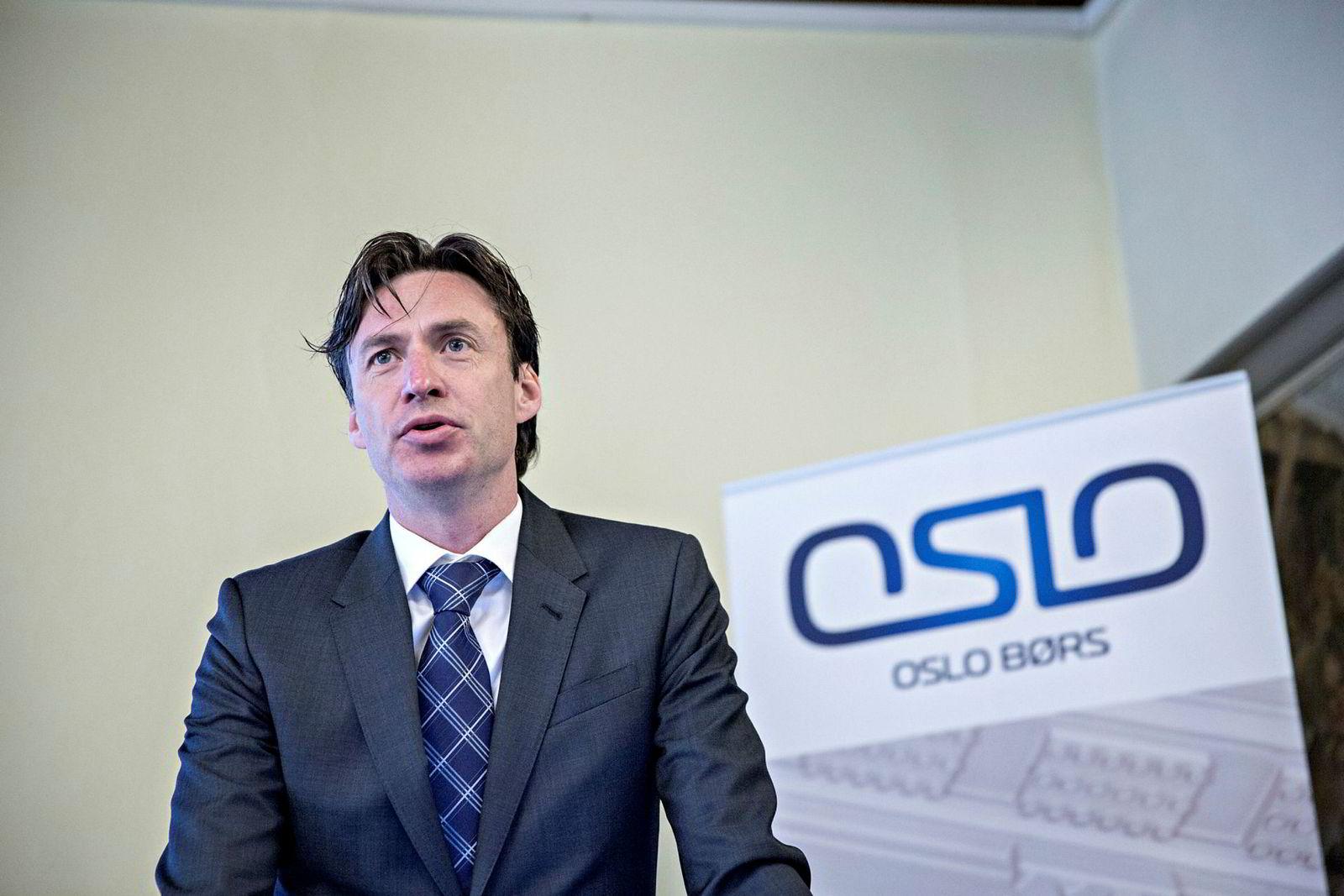 Øivind Amundsen er Oslo Børs' juridiske direktør.
