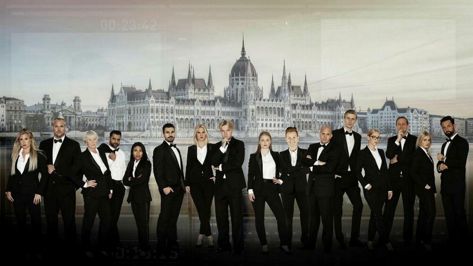 Realityserien «Den ultimate agent» er lagt til «spionbyen» Budapest, hvor 16 deltagere har fått en rekke oppgaver å løse, før en deltager har måttet pakke spion-kofferten på slutten av hver episode.