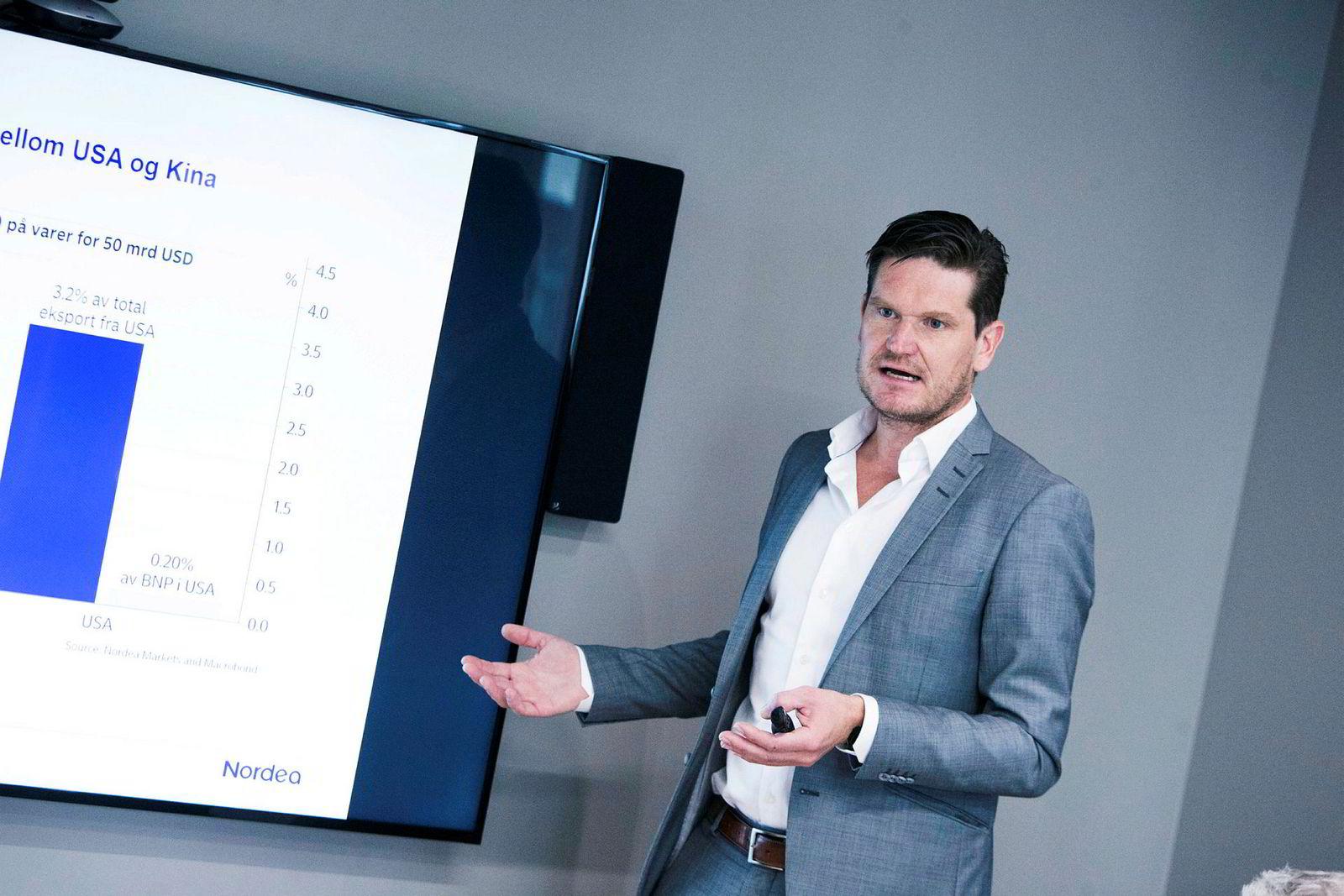 – Prognosene virket rimelige og fornuftige, men det fordrer jo også at det ikke kommer en ny ordentlig smittebølge, Kjetil Olsen, sjeføkonom i Nordea Markets.