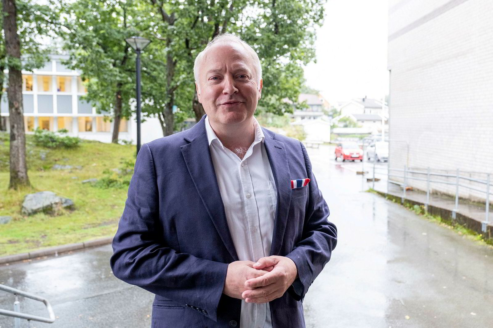 Vidar Kleppe og Demokratene fikk 10 av de 71 representantene i det nye bystyret i Kristiansand og havnet dermed på vippen.