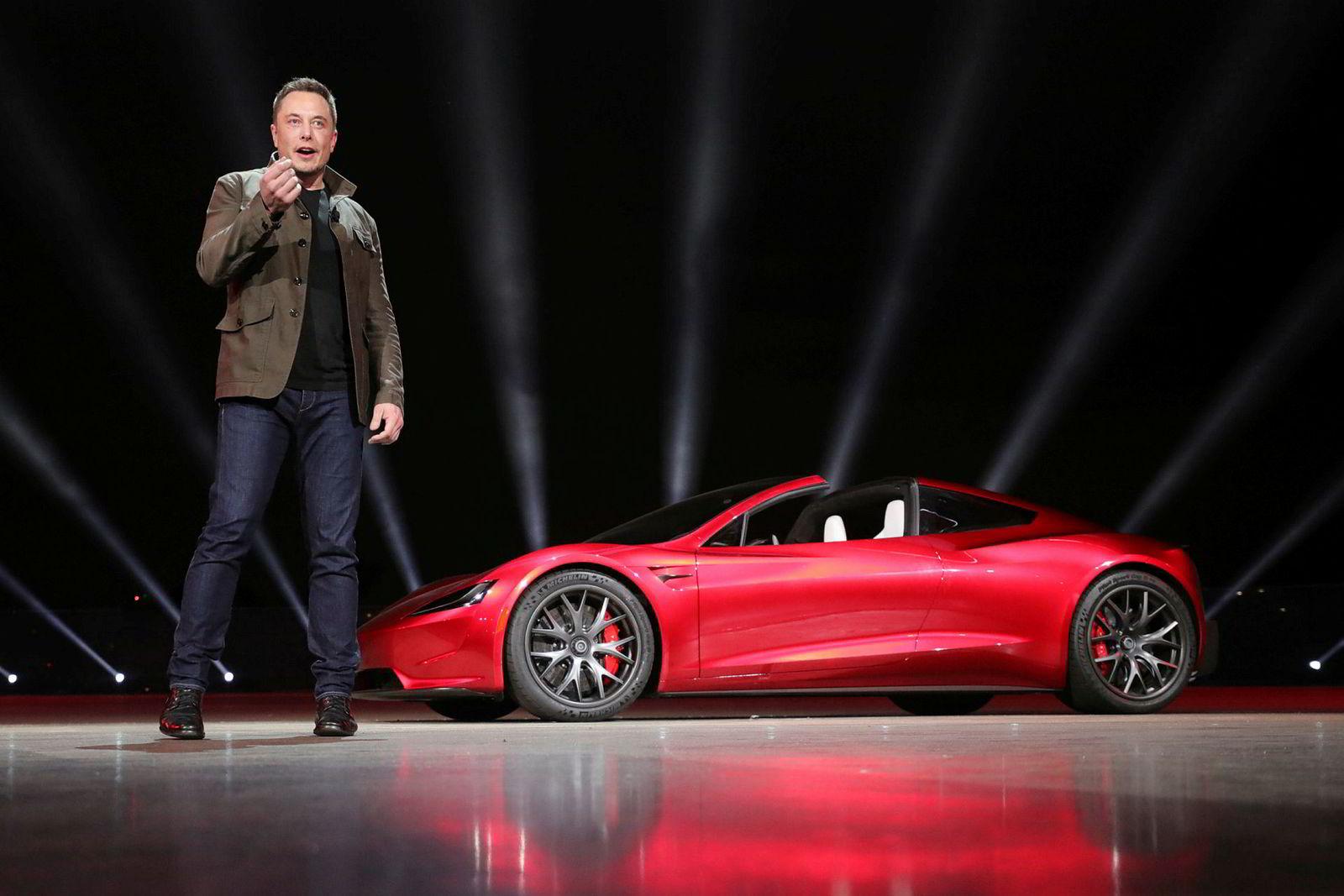 I fjor høst presenterte Elon Musk en ny generasjon Tesla Roadster.
