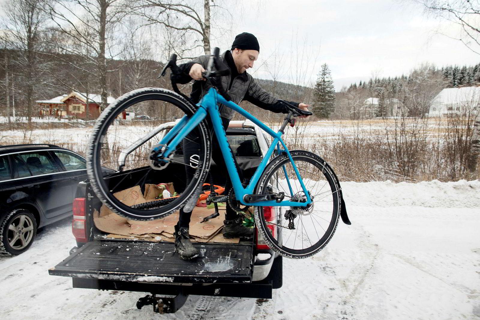 Cyclocross-sykler og grusracere har vært en trendvinner blant ivrige mosjonister de siste årene. For helårssyklisten Arjan Boldingh er det også redskapen vinterstid.
