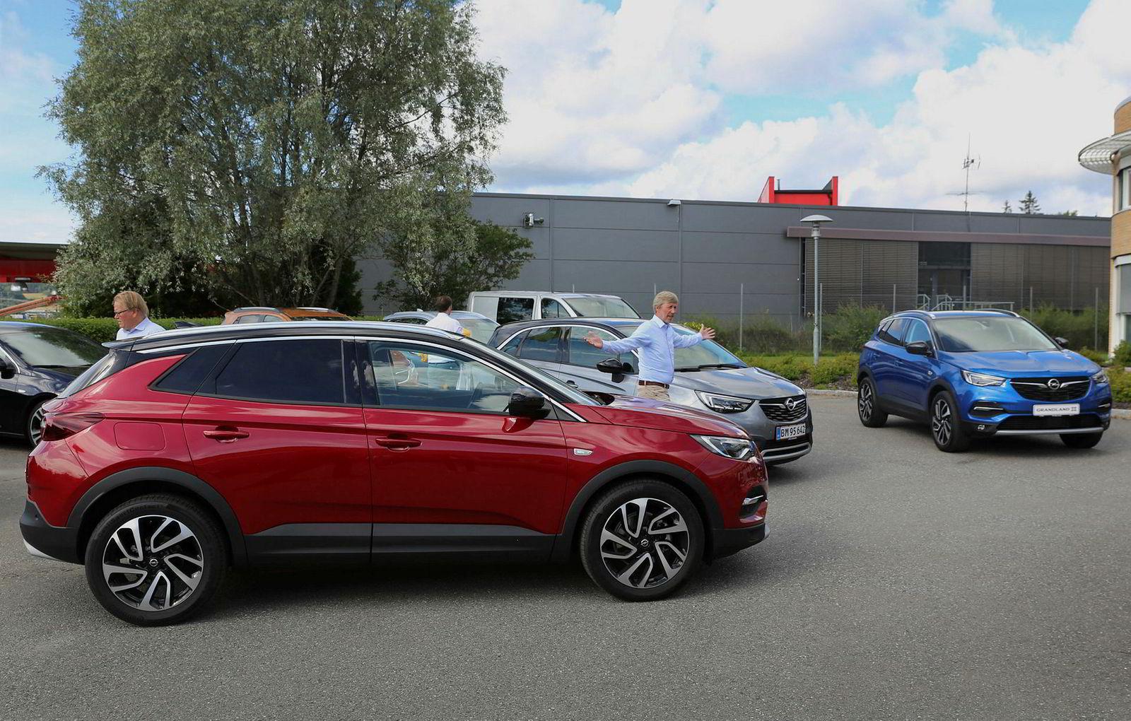 Opel Grandland X er den største av Opels suver, og skal konkurrere mot biler som Nissan Qashqai.