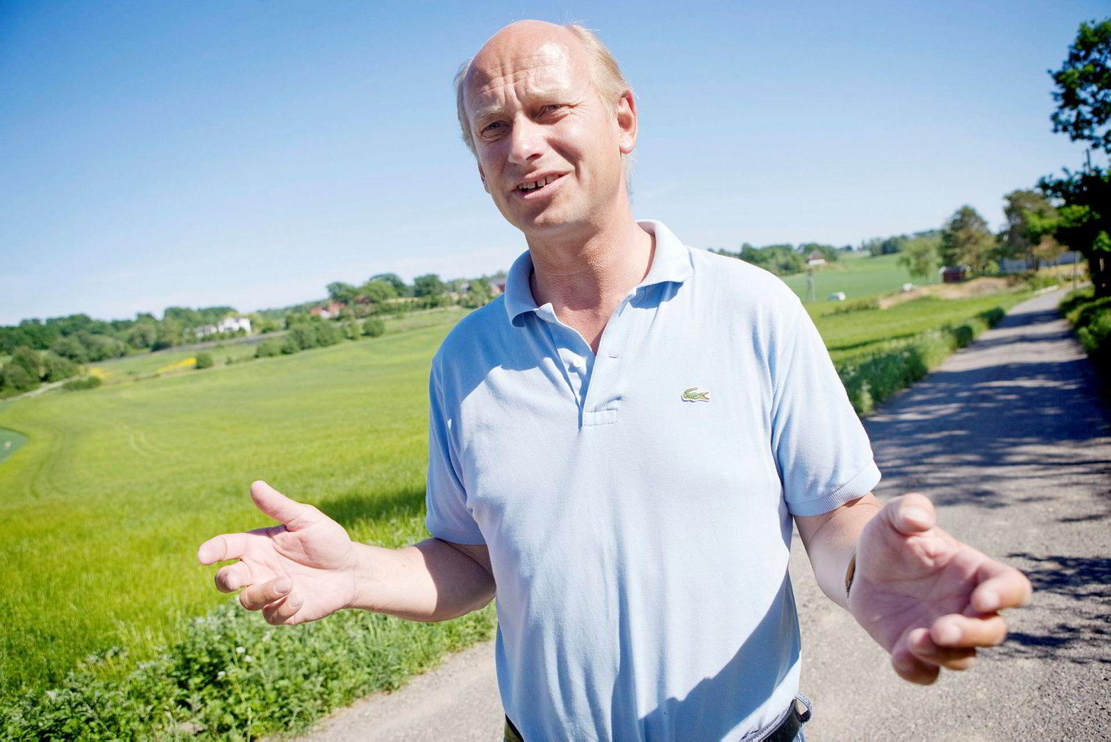 Eiendomsmegler Tore Solberg satte ny rekord i Sandefjord i helgen, men ikke personlig rekord.