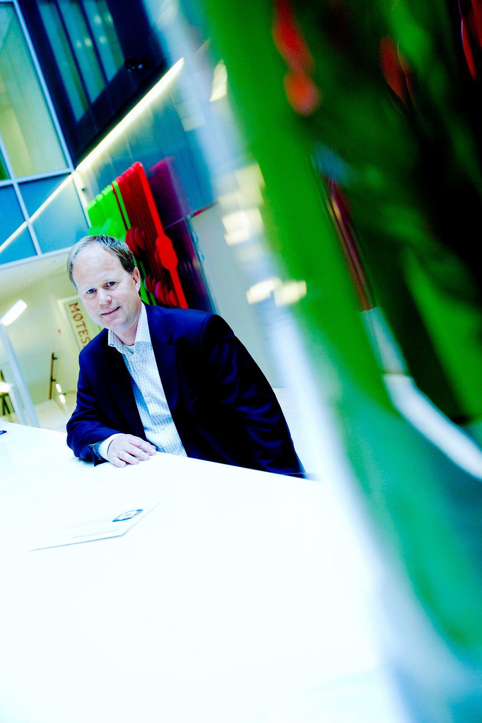 John Harald Henriksen, porteføljeforvalter i KLP.