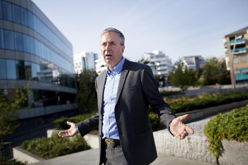 Partner Bjørn Erik Øye i Prognosesenteret.