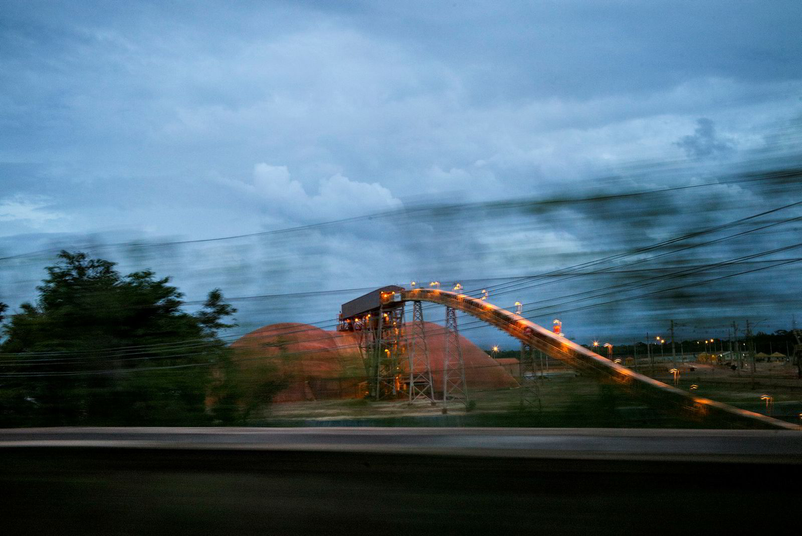 Bilder fra Hydros aluminaraffineri Alunorte, i Brasil.