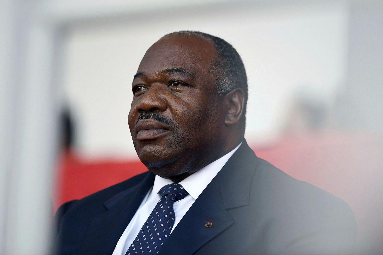 Ali Bongo Ondimba, president i Gabon.