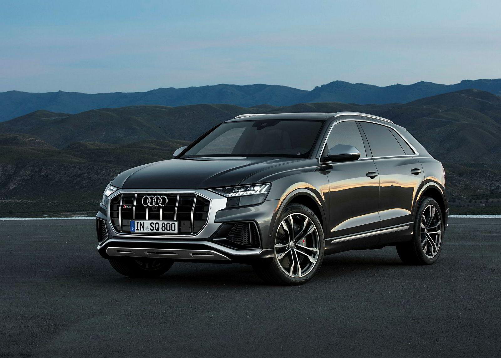 Audi SQ8 er et realt dieselmonster.