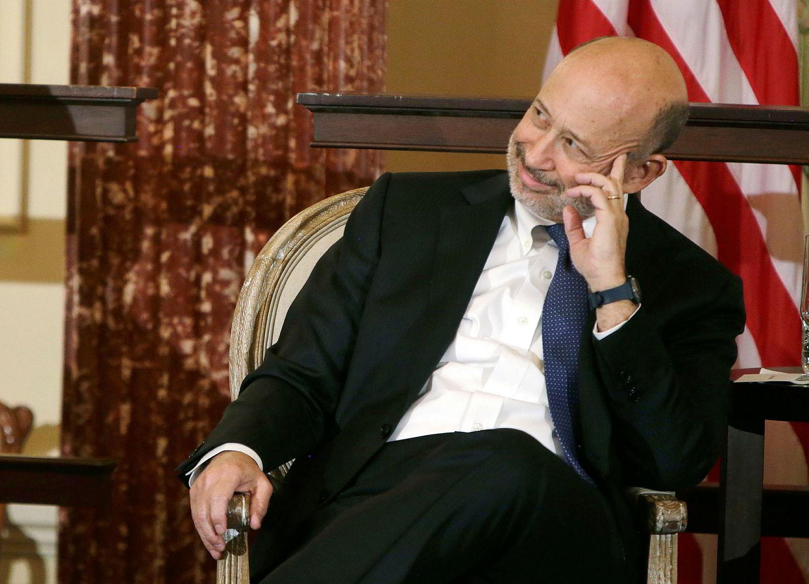 Guds arbeid? Goldman Sachs' styreleder og toppsjef Lloyd Blankfein.