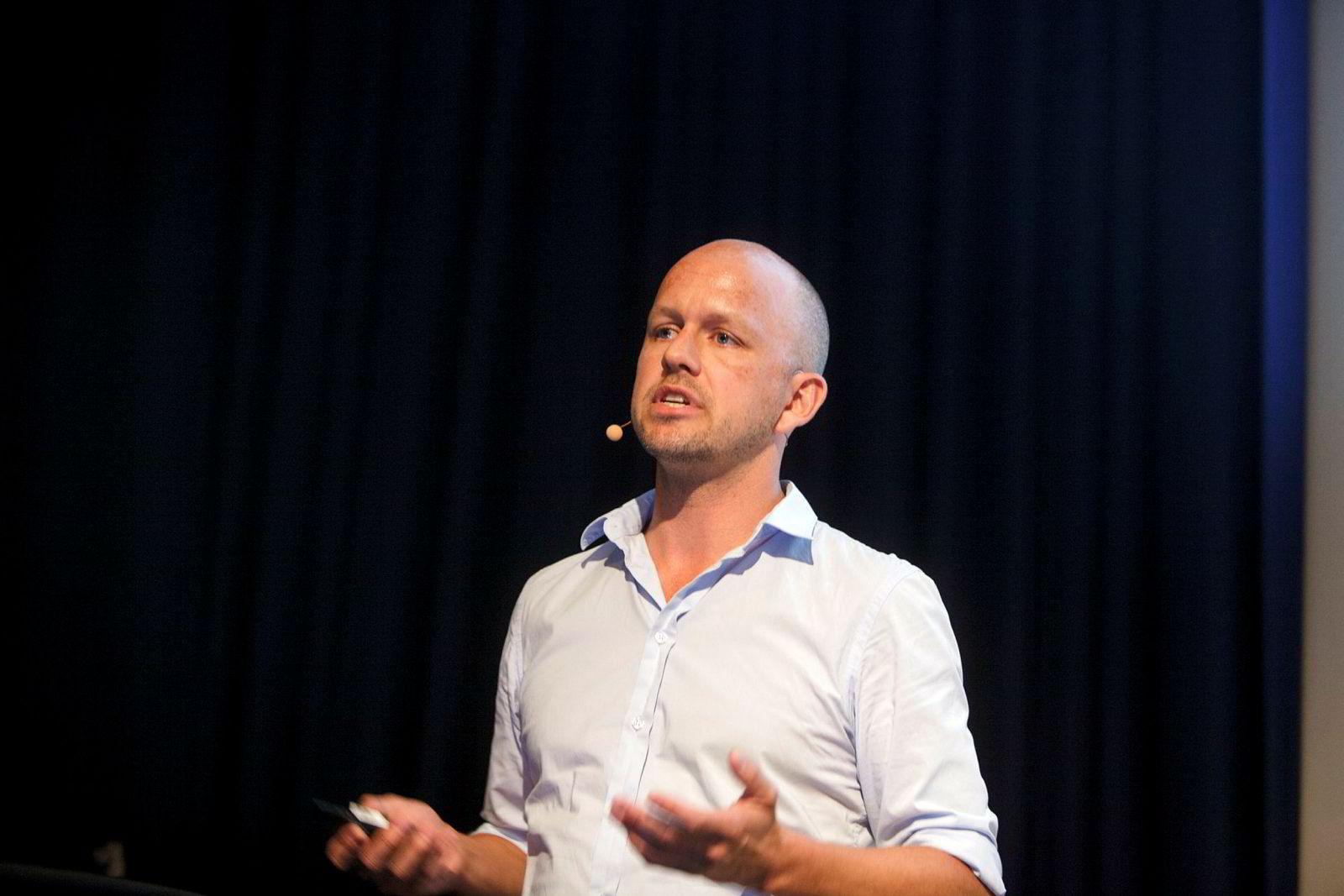 Thomas Smedsrud er prosjektleder på BigMed-prosjektet.
