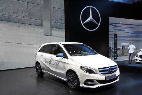 Mercedes-Benz B-klasse Electric Drive.