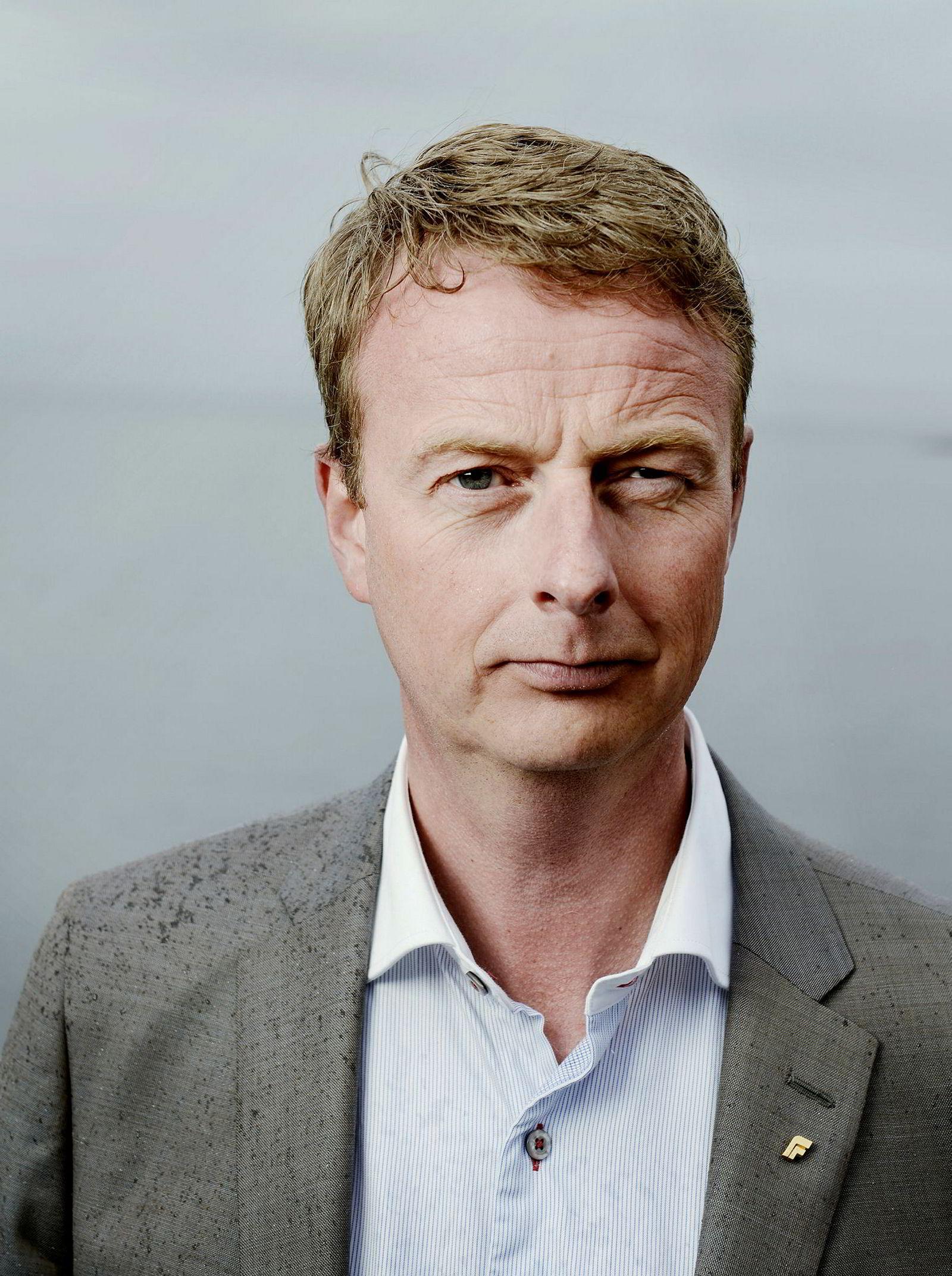 Os-ordfører Terje Søviknes.