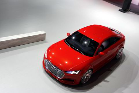 Audi TT Sportback concept.