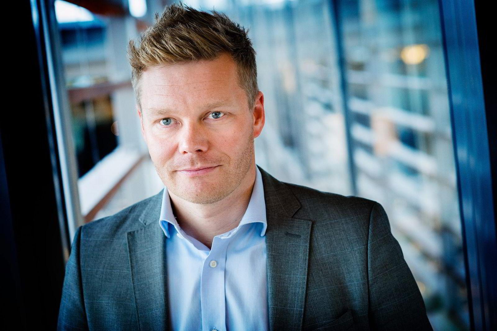 Tormod Sandstø, pressekontakt i Telenor for Canal Digital. Foto: Bjørn H. Stuedal