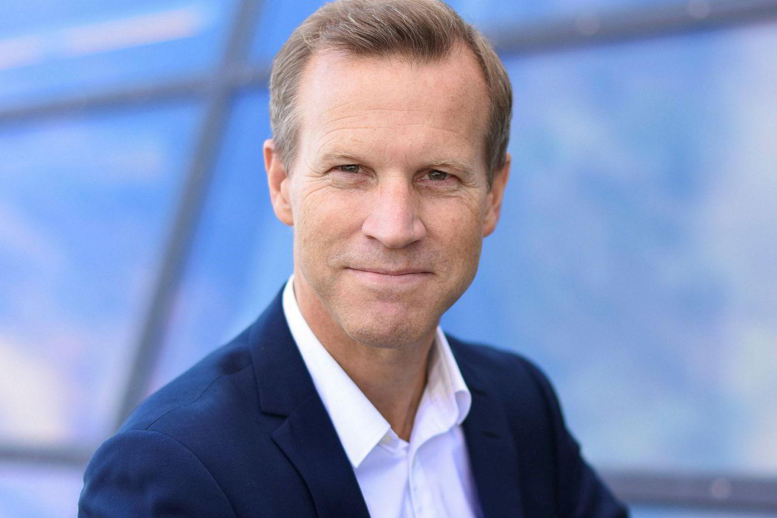 Kommunikasjonssjef Anders Krokan i Telenor.