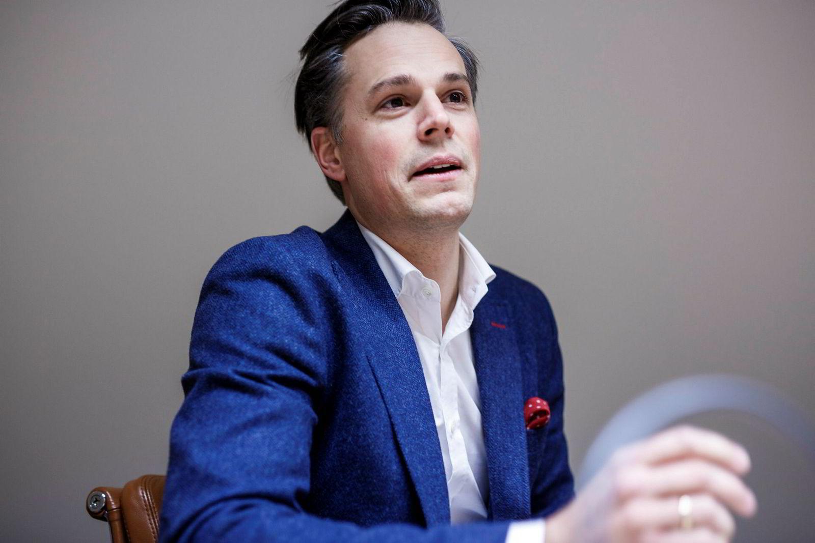 Informasjonsdirektør Even Westerveld, DNB.