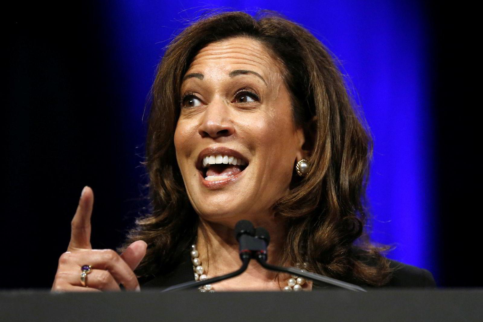Senator Kamala D. Harris har lang erfaring som statsadvokat i California, og er en stigende stjerne i Washington.