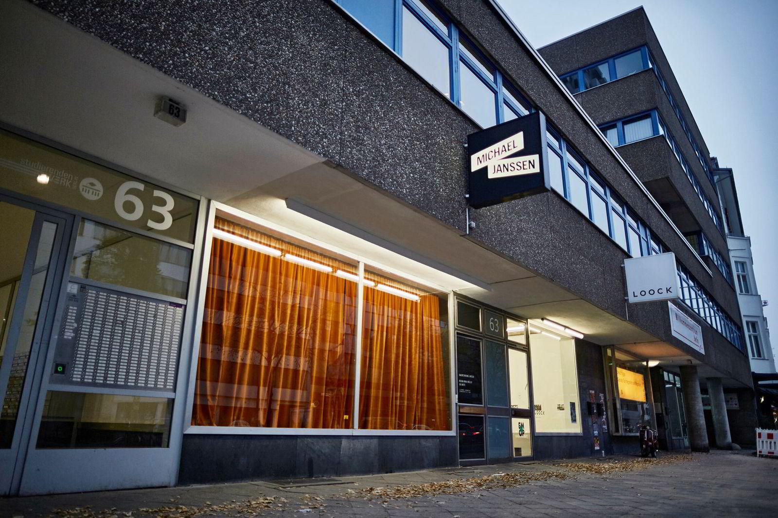 Gallerie Michael Janssen ligger sentralt i Berlin.