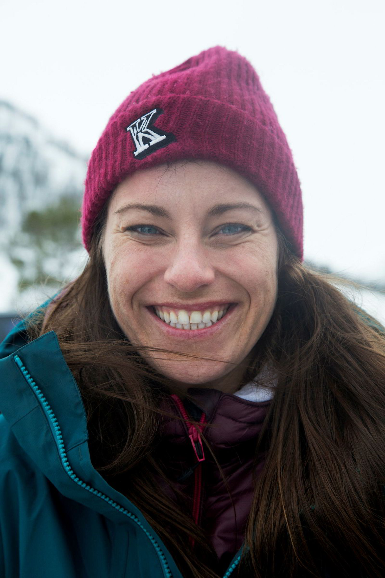 Skikjører Anne May Slinning (32).