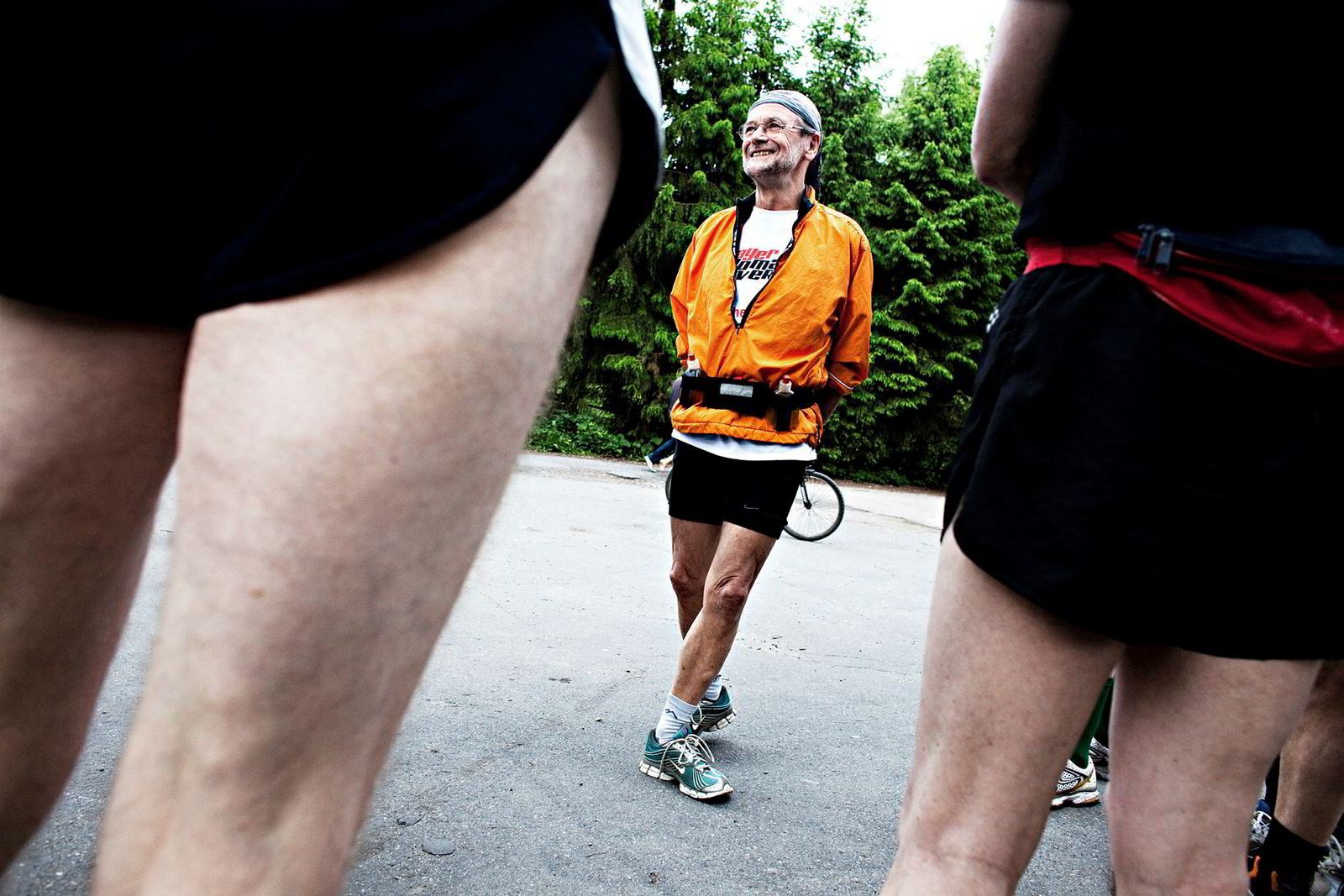 En skambefengt erfaring. – Det er den totale skam å bryte et løp når du er fartsholder, sier løpebokforfatter Andreas Hompland (72). Bildet er fra 2010.