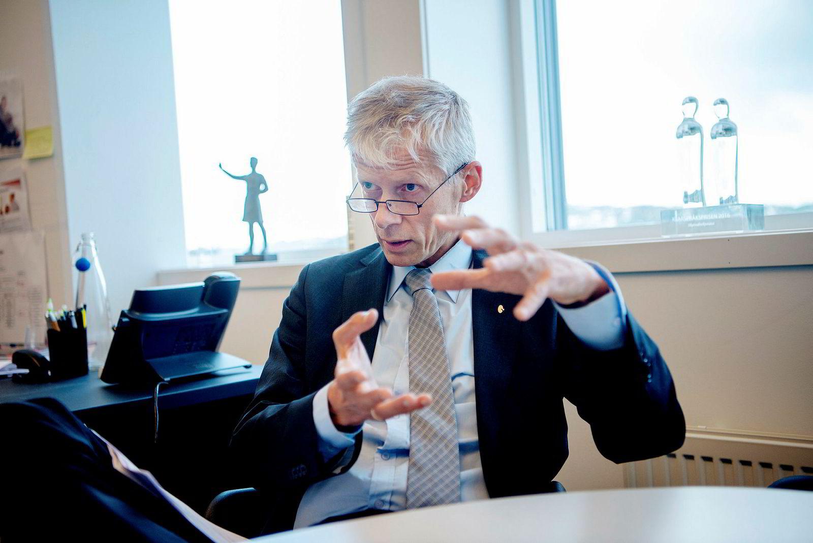 Skattedirektør Hans Christian Holte mener norske banker ikke er involvert i den enorme svindelen knyttet til utbytteskatt i Europa.