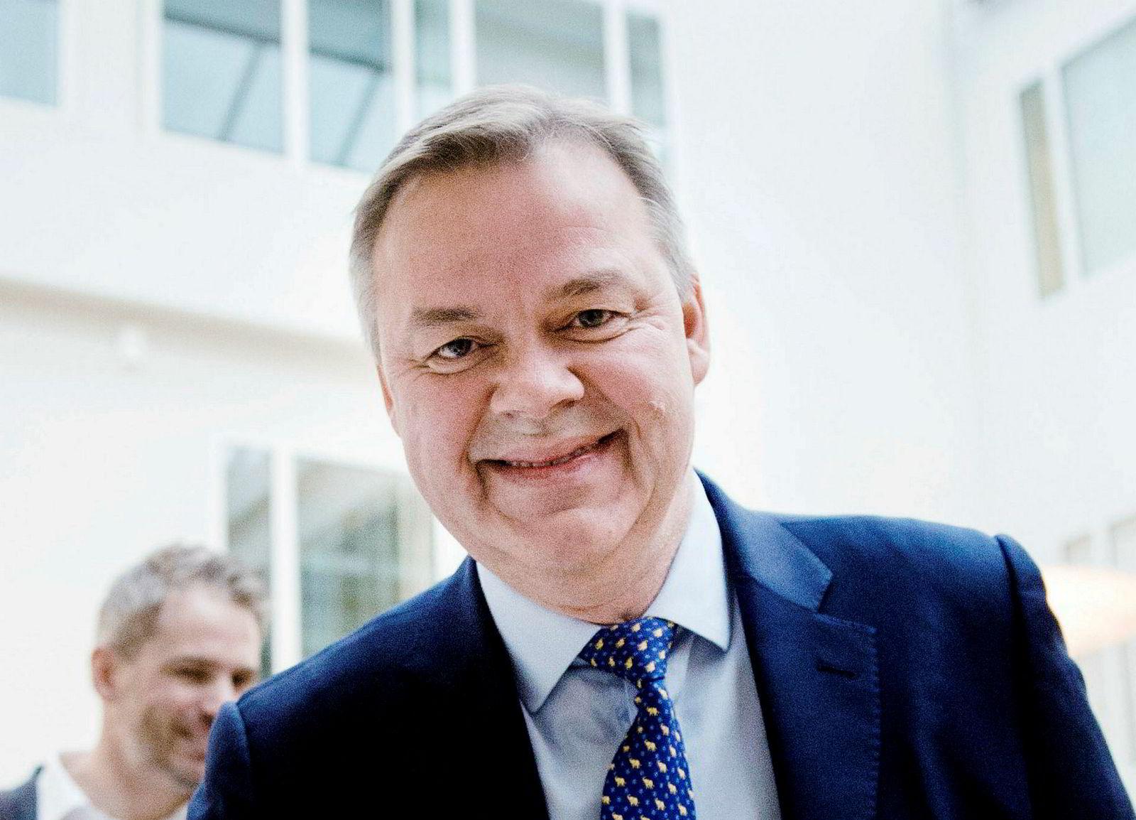 Konsernsjef Odd Arild Grefstad i Storebrand.