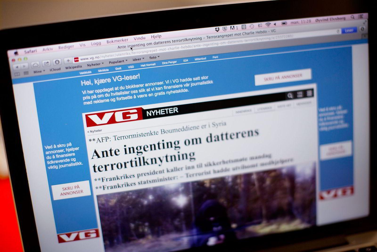 Det finnes ikke nøyaktige tall for bruken av annonseblokkeringsverktøy i Norge, men i Sverige bruker nå én av fire det på pc. Norske nettaviser anslår at omkring 20 prosent av leserne deres på pc, bruker annonseblokkeringsverktøy.