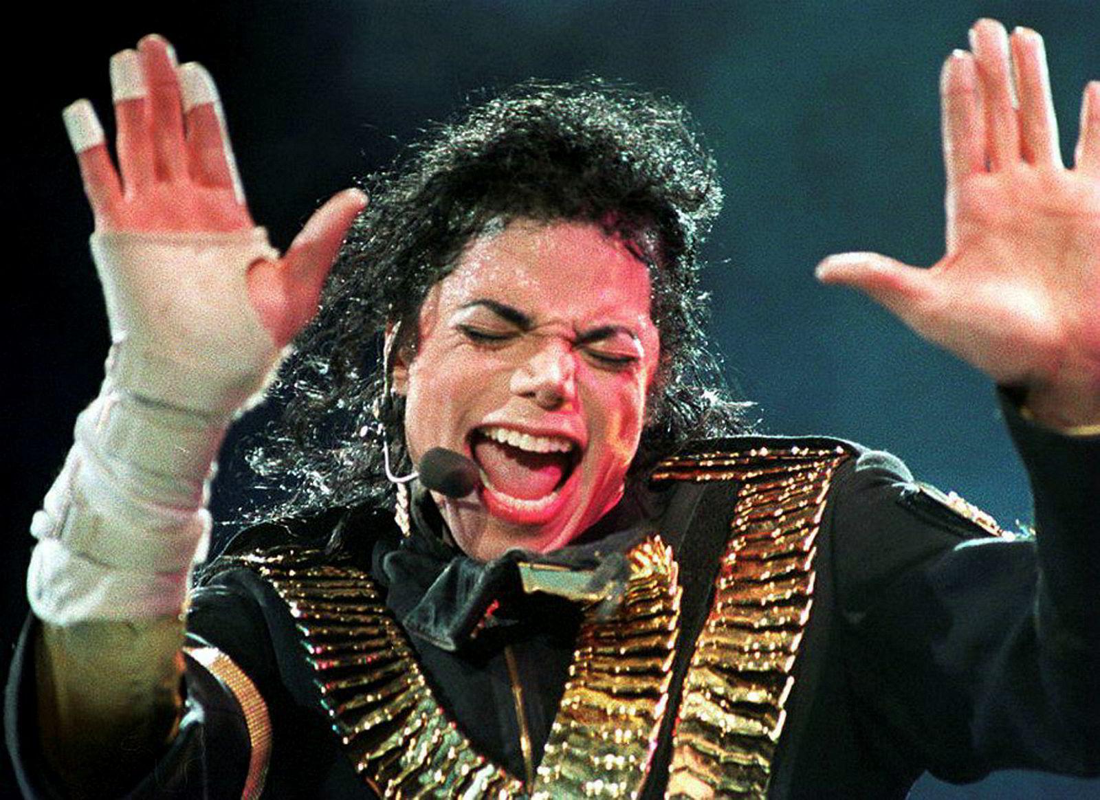 Michael Jackson under turneen «Dangerous»