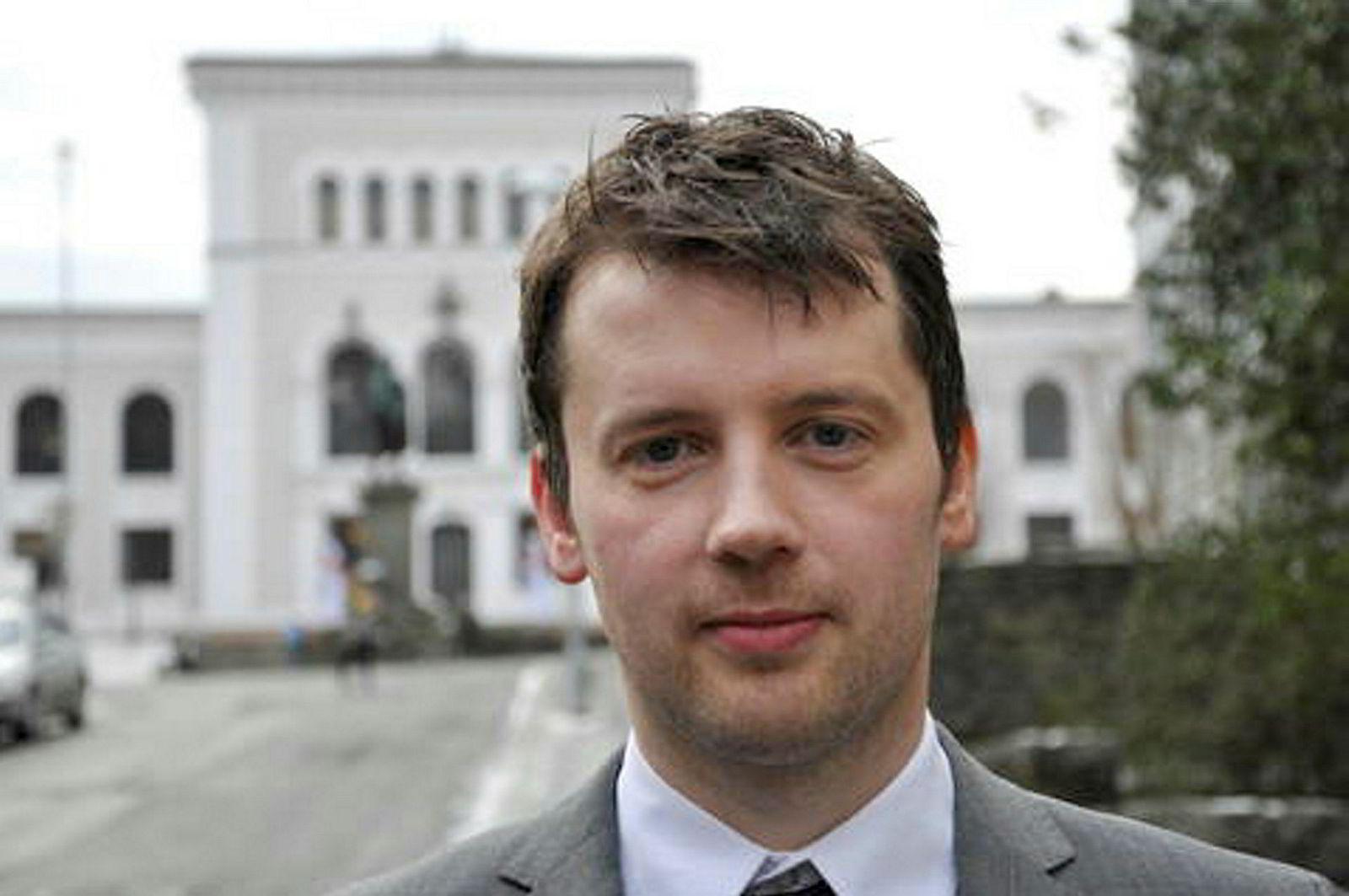 USA-forsker Hilmar Mjelde ved Universitetet i Bergen.