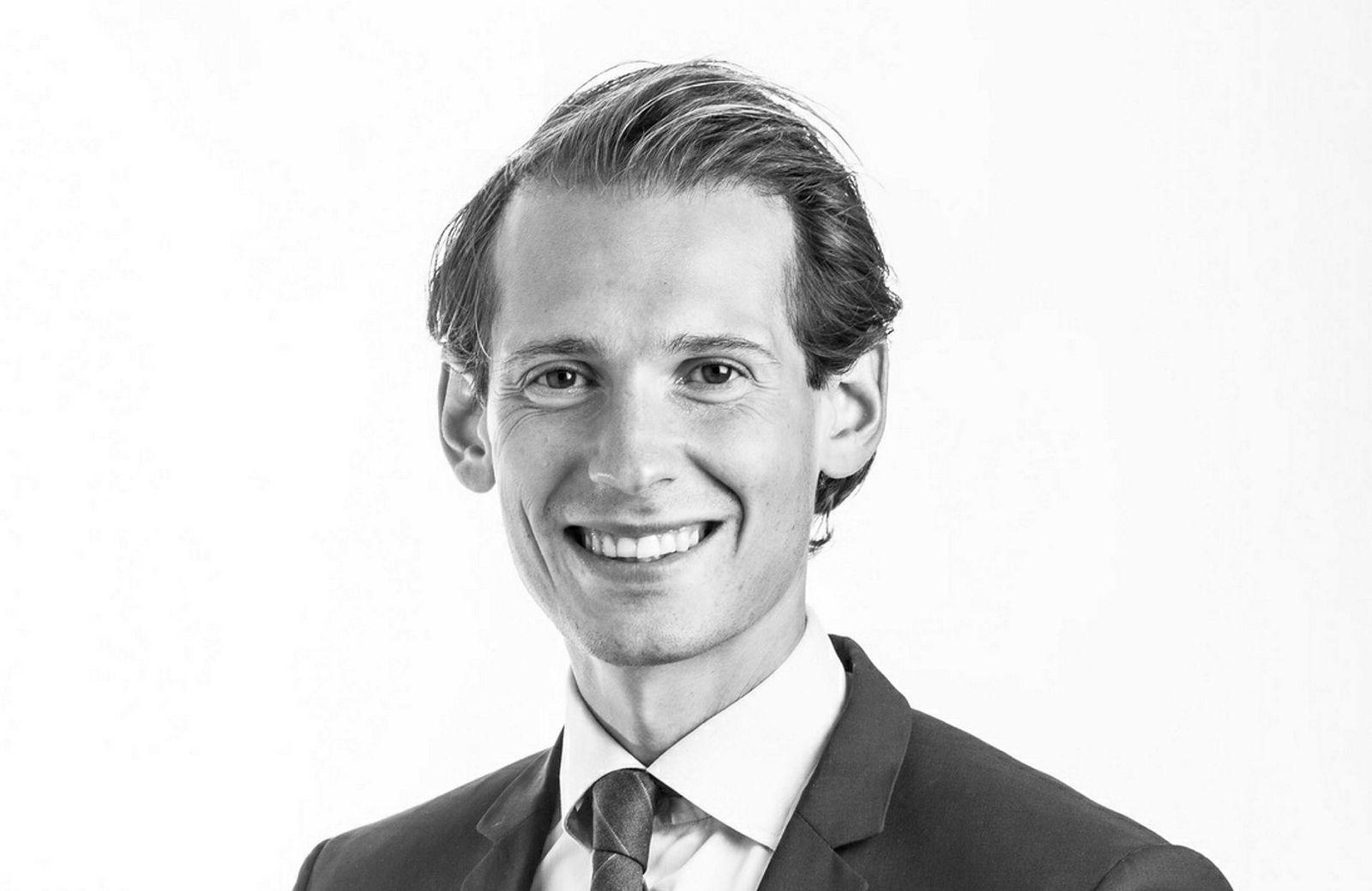 Advokat Emanuel Feinberg representerer det finske storfondet OP Financial Group.