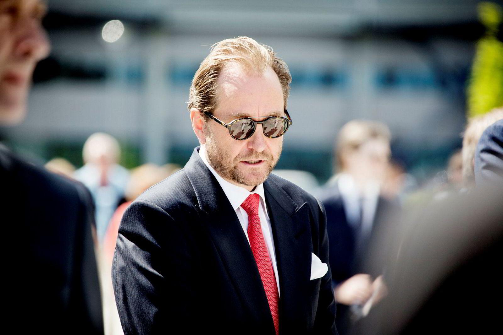 Aker-hovedeier og oljemilliardær Kjell Inge Røkke er mannen bak REV Ocean.