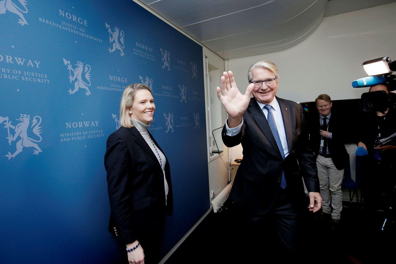 Fabian Stang tiltrådte som statssekretær for innvandrings- og integreringsminister Sylvi Listhaug i oktober 2016.