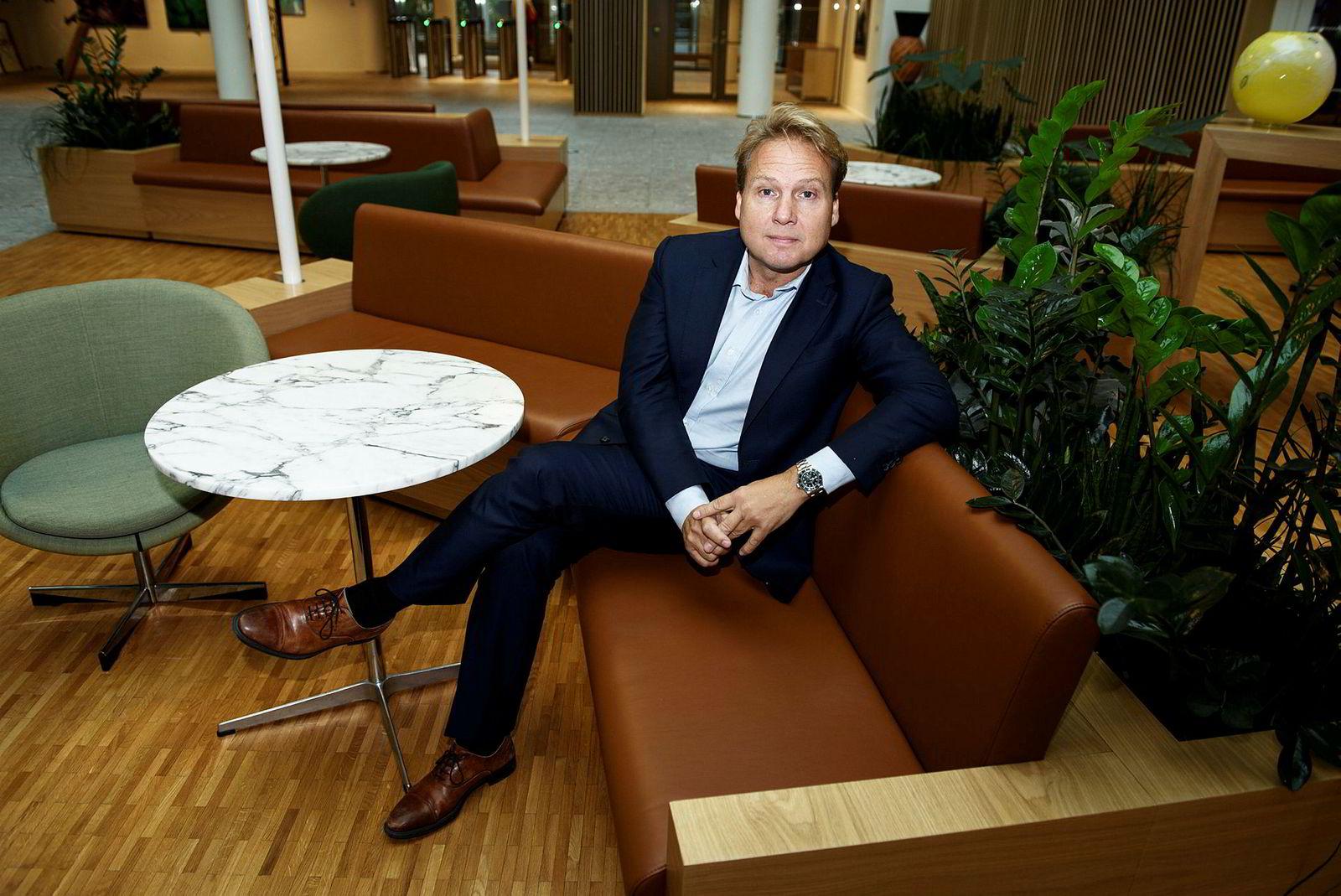 John Sætre, leder for Nordeas bankvirksomhet, sier bankene må endre sin plattformstrategi fremover.