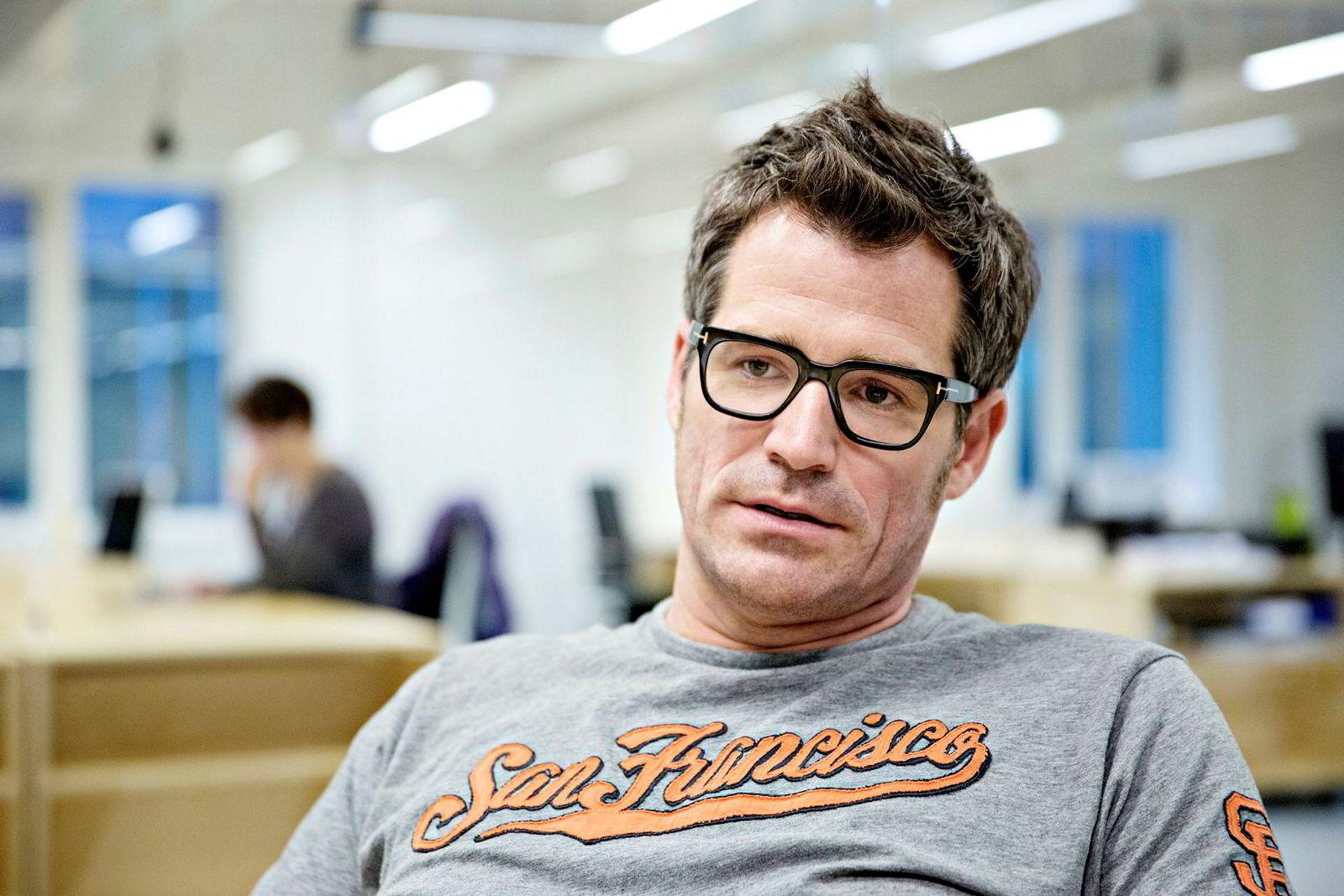 Alexander Woxen i Startuplab.
