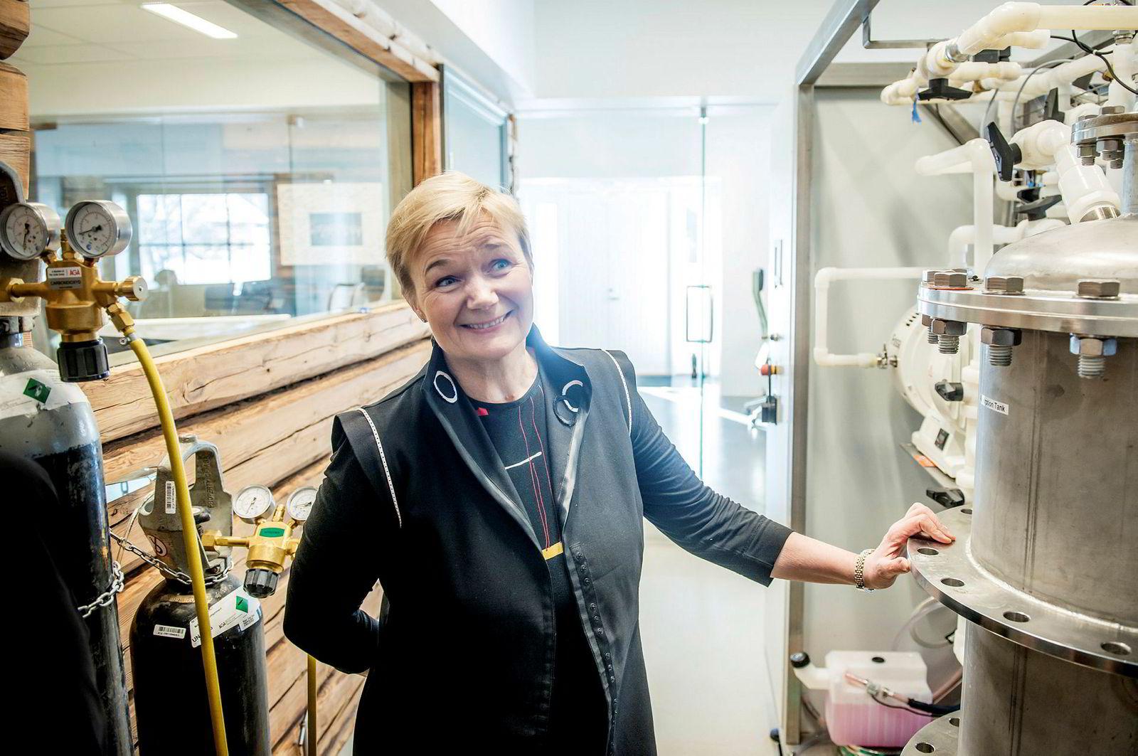 Grete Sønsteby har hentet 74 millioner kroner for at gjødselselskapet N2 Applied skal vokse videre.