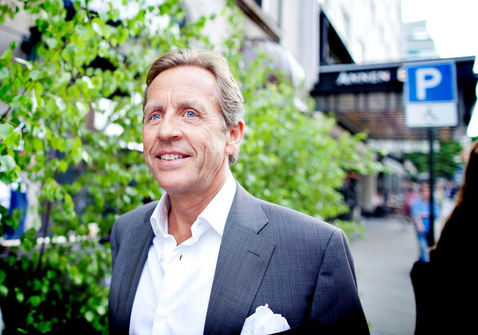 Investor Arne Blystad.