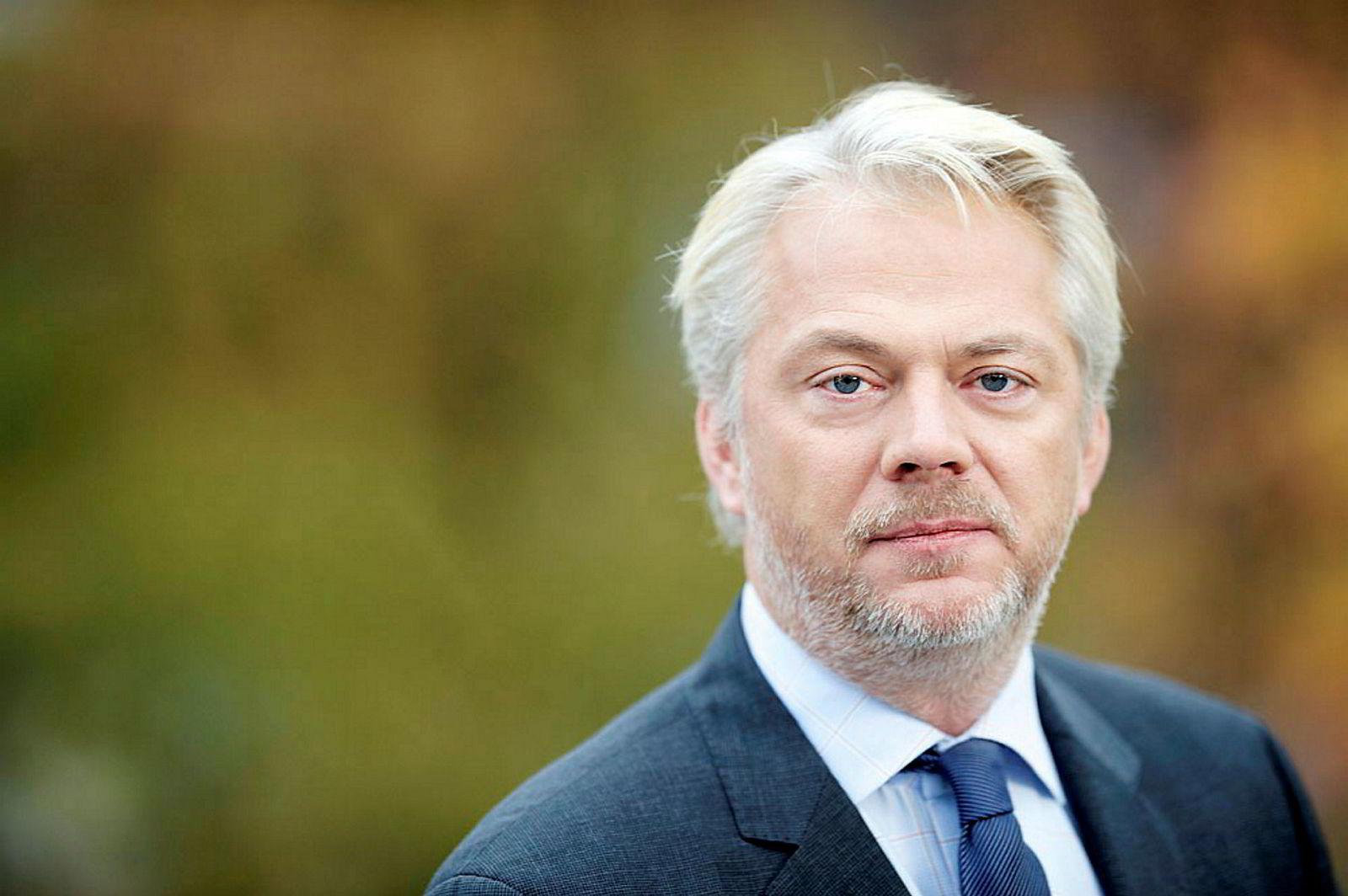 Jan Erik Fåne, kommunikasjonsdirektør i Finans Norge.