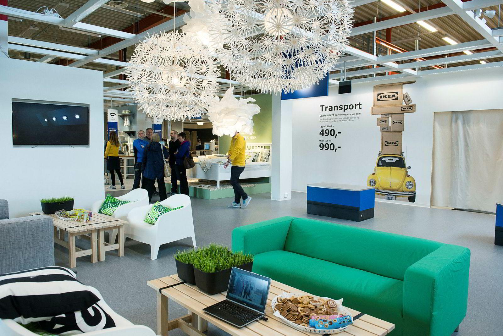 Servicesenteret i Tromsø lignet mye på et vanlig Ikea-varehus, men manglet kjøttboller og handlevogner.