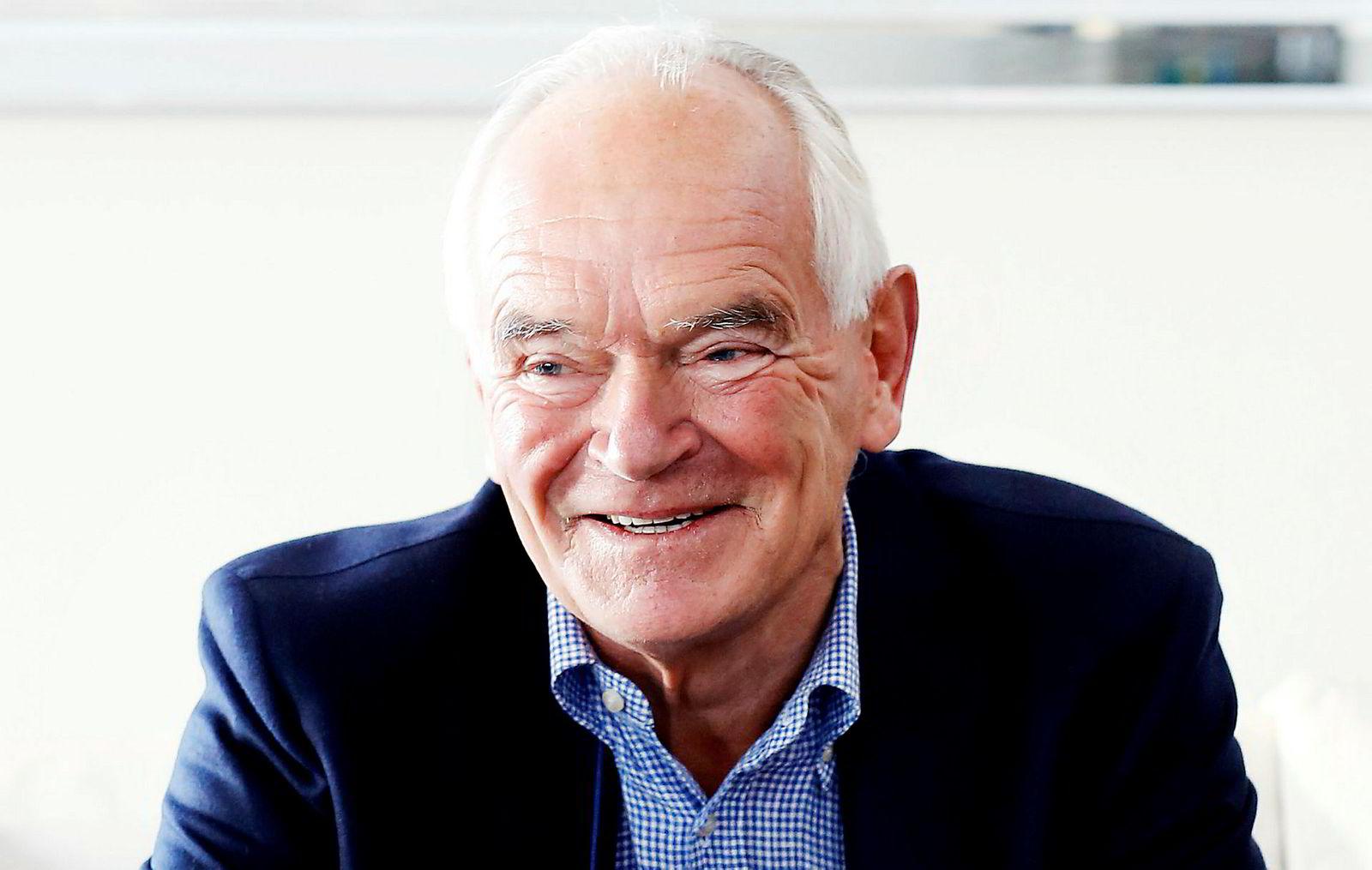 Milliardæren og filantropen Trond Mohn (74).