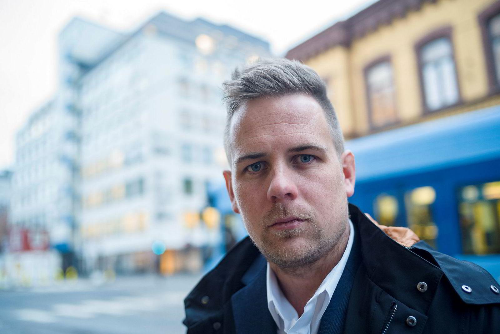 Anders Blixhavn, kommunikasjonssjef i Blå Kors.